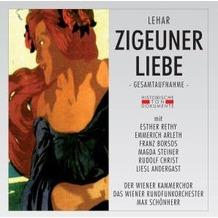 Zigeunerliebe, CD