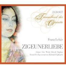 Zigeunerliebe (Lehar,Franz), CD