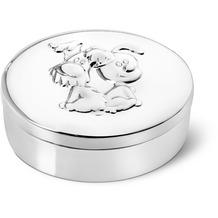 Zilverstad Erste Locke, erste Zahndose oval Woezel & Pip  Silber