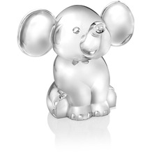 Zilverstad Spardose Elefant sitzend