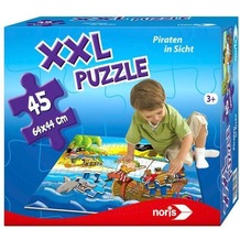 Noris Riesenpuzzle Piraten 45 tlg.