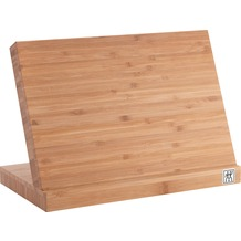 Zwilling Magnet-Messerblock aus Bambus-Holz unbestückt