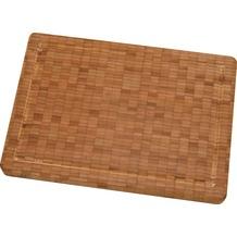 Zwilling Schneidebrett aus Bambus-Holz mit Saftrille ca. 35 x 25,5 x 3 cm (mittel)