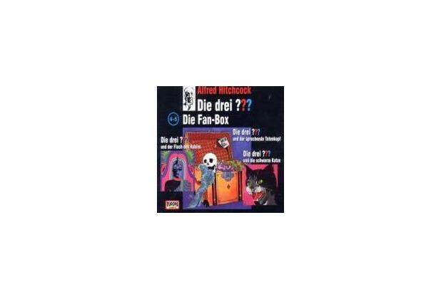 Die drei ??? Box 02. Folgen 4-6 (drei Fragezeichen) 3 CDs Hörspiel