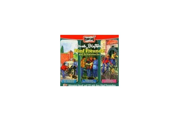 Fünf Freunde Box 03. Folgen 32, 33, 36. 3 CDs Hörspiel