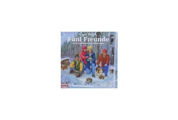 Fünf Freunde 093 und das Geheimnis des Winterwaldes Hörspiel