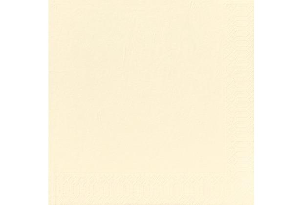 Duni Dinner-Servietten 3lagig Tissue Uni champagner, 40 x 40 cm, 20 Stück