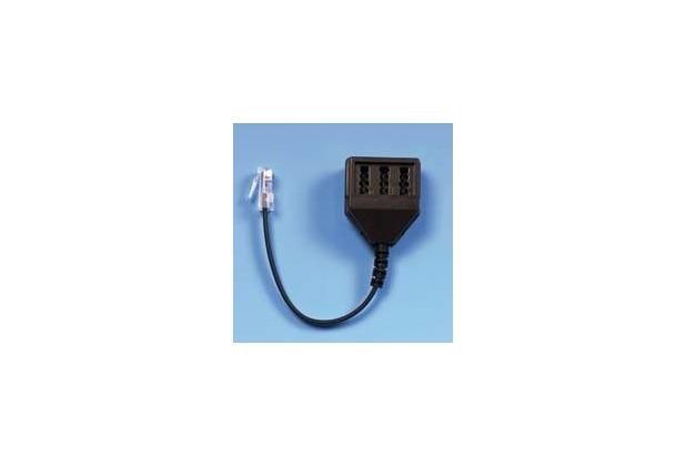 HDK Adapter Modularst. 8/4(RJ45) auf TAE-NFF (0,2 m)