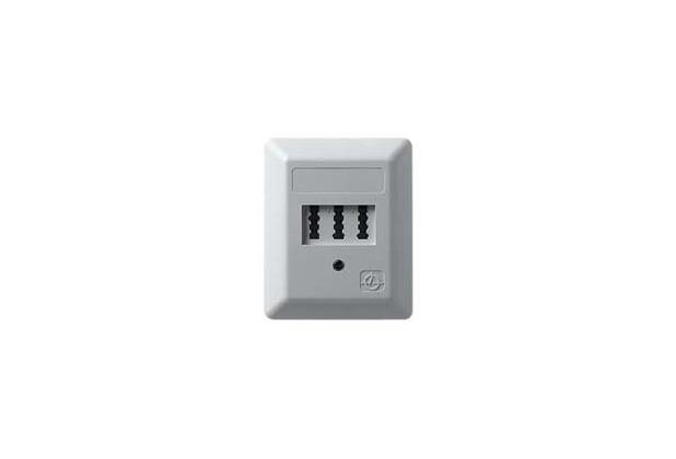 ZE Kom Automatischer Mehrfachschalter (AMS) mit NF/F TAE-Anschlussdose, Aufputz