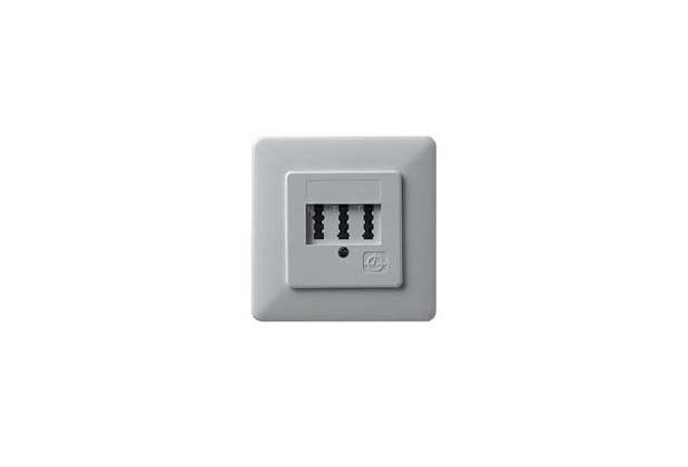 ZE Kom Automatischer Mehrfachschalter (AMS) mit NF/F TAE-Anschlussdose, Unterputz