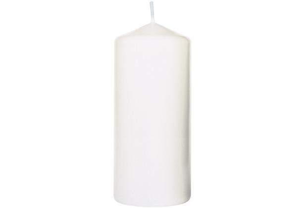 Duni Stumpenkerzen weiß, 8 x 15 cm