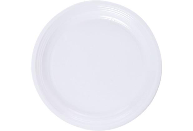 Duni Plastikteller weiß, ø 22 cm, 20 Stück