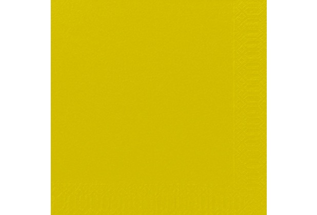 Duni Dinner-Servietten 3lagig Tissue Uni kiwi, 40 x 40 cm, 250 Stück