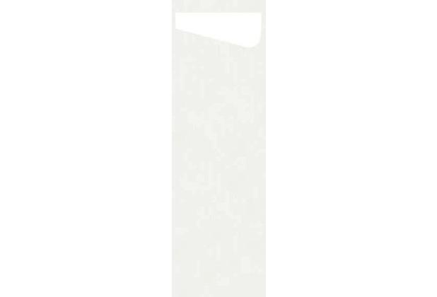 Duni Sacchetto Serviettentasche Slim Uni weiß, Dunisoft Serviette weiß, 60 Stück