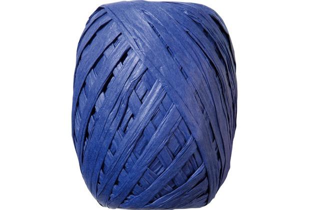 Duni Eiknäuel Raffia blau, 7 mm x 30 m