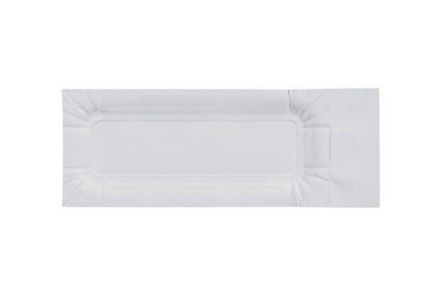 Duni Imbissteller weiß, 20 x 8 cm, 20 Stück