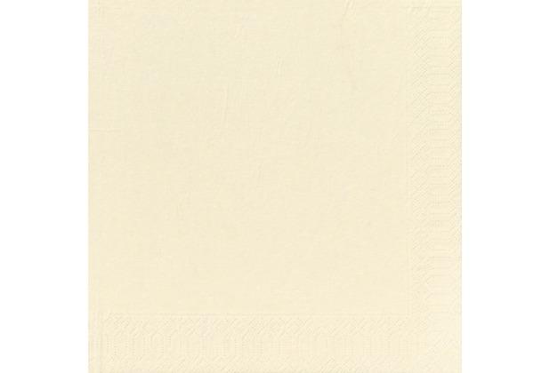 Duni Dinner-Servietten 3lagig Tissue Uni champagne, 40 x 40 cm, 50 Stück
