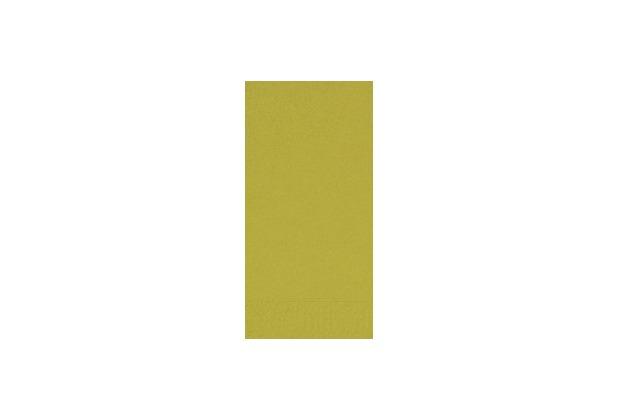 Duni Dinner-Servietten 2lagig Tissue Uni kiwi, 40 x 40 cm, 250 Stück
