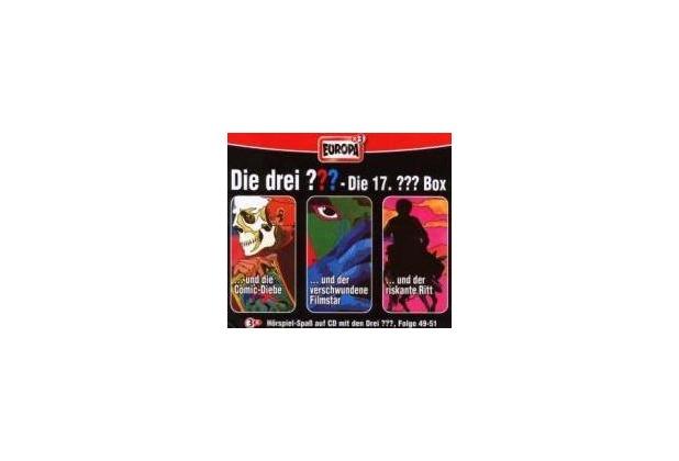 Die drei ??? Box 17. Folgen 49-51 (drei Fragezeichen) 3 CDs Hörspiel