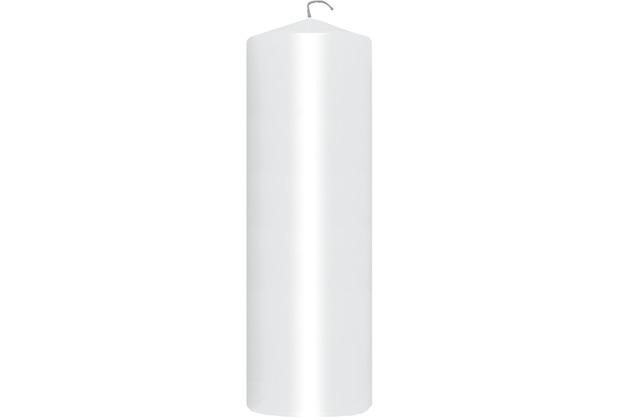Duni Stumpenkerzen weiß, 7 x 22 cm