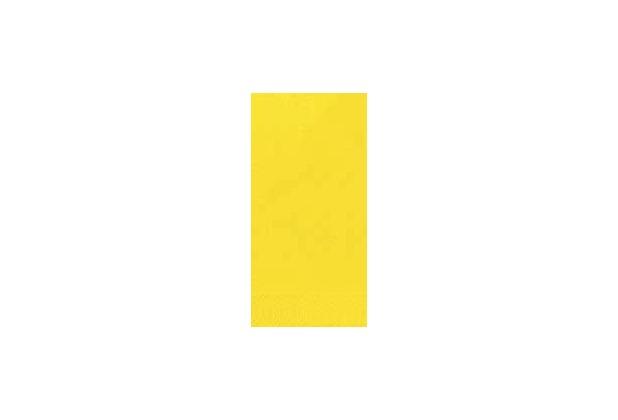 Duni Servietten 3lagig Tissue Uni gelb, 33 x 33 cm, 250 Stück