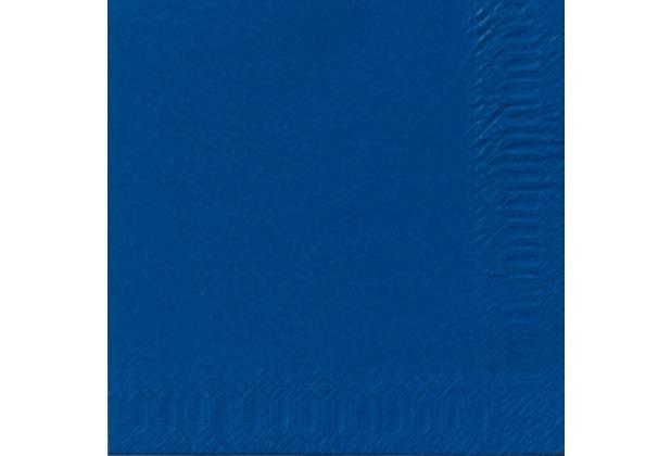 duni servietten 3lagig tissue uni dunkelblau 33 x 33 cm 250 st ck. Black Bedroom Furniture Sets. Home Design Ideas