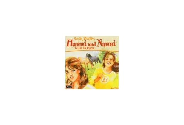 Hanni und Nanni 21: Hanni und Nanni retten die Pferde Hörspiel