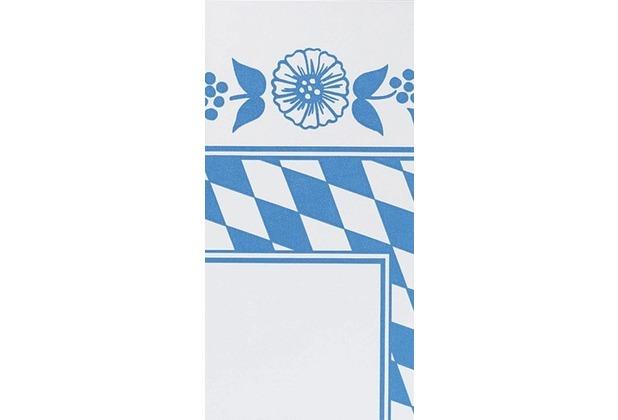 Duni Mitteldecken aus Dunicel Motiv Bayer. Raute, 84 x 84 cm, 20 Stück