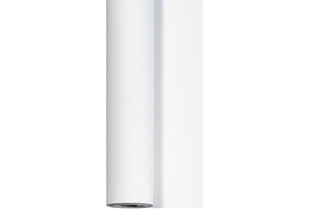 Duni Bierzelt Tischdeckenrolle aus Dunicel Uni weiß, 90 cm x 40 m