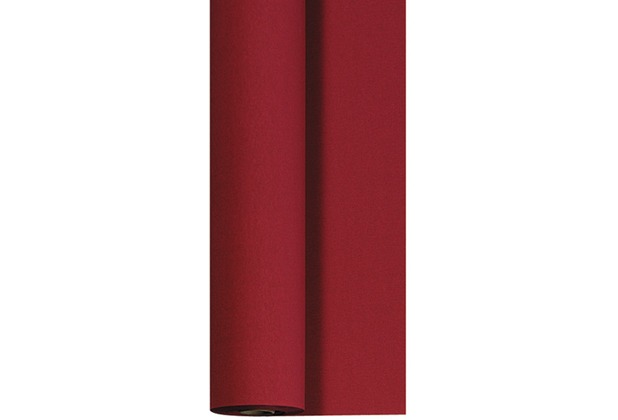 Duni Bierzelt Tischdeckenrolle aus Dunicel Uni bordeaux, 90 cm x 40 m