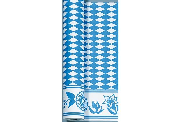 Duni Bierzelt Tischdeckenrolle aus Dunicel Motiv Bayernraute, 90 cm x 40 m