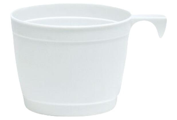 Duni Tassen weiß, 25 cl, 10 Stück