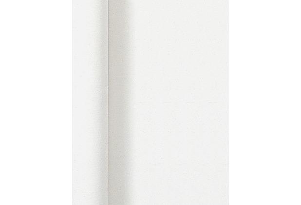 Duni Tischdeckenrolle mit Damastprägung Uni weiß, 1 x 25 m