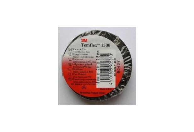 3M Isolierband Temflex 15x10, schwarz