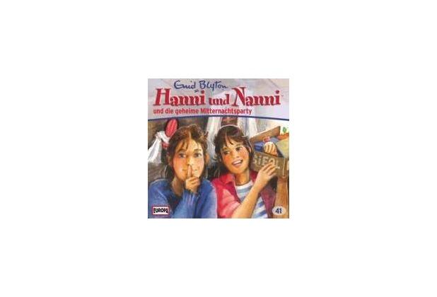 Hanni und Nanni 41 ... und die geheime Mitternachtsparty Hörspiel