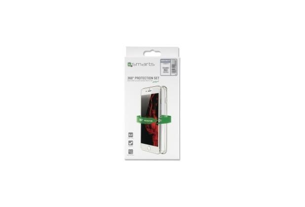 4smarts 360° Protection Set Limited Cover für Huawei P20 lite, transparent