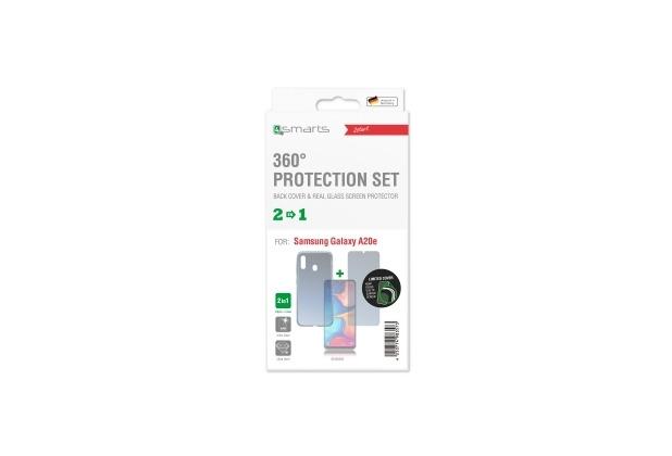 4smarts 360° Protection Set Limited Cover für Samsung Galaxy A20e transparent