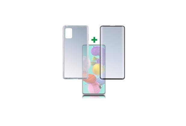 4smarts 360° Protection Set Premium für Samsung Galaxy A51 schwarz