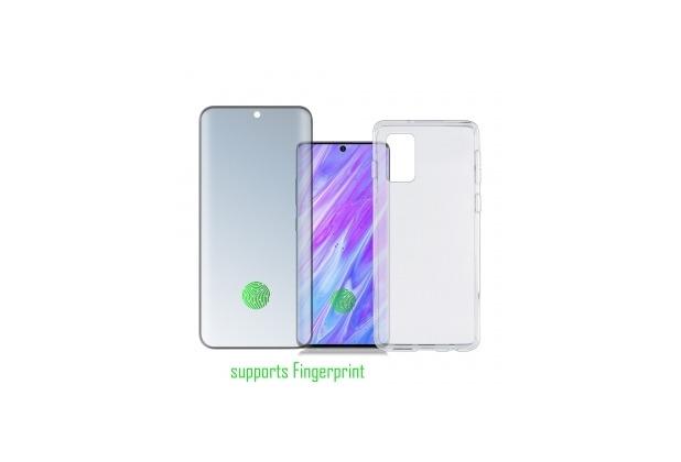 4smarts 360° Protection Set Premium UltraSonix für Samsung Galaxy S20 Ultra 5G schwarz