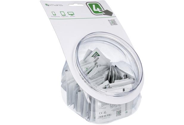 4smarts Basic POS Behälter mit 50 Display-Reinigungstüchern