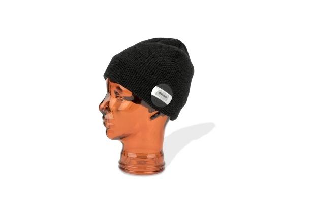 4smarts Basic Wireless Headset Beanie Evo schwarz