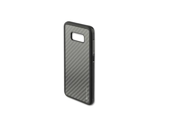 4smarts Clip-On Cover Trendline Carbon für Samsung Galaxy S8+ schwarz