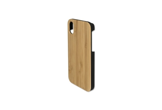 4smarts Clip-On Cover Trendline Wood für Apple iPhone X bambus