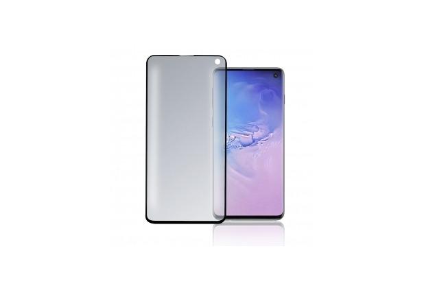 4smarts Curved High Flex Displayschutz mit Fingerprint Erkennung für Samsung Galaxy S10 schwarz