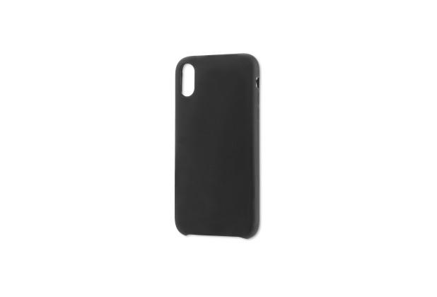 4smarts Liquid Silikon Case CUPERTINO für Apple iPhone Xs Max schwarz