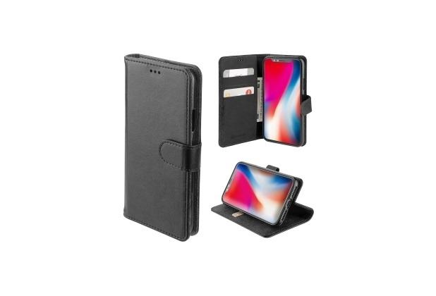 4smarts Premium Flip-Tasche URBAN für Apple iPhone Xs / X all-black