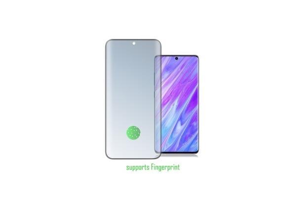 4smarts Second Glass Curved 3D UltraSonix für Samsung Galaxy S20 / S20 5G schwarz