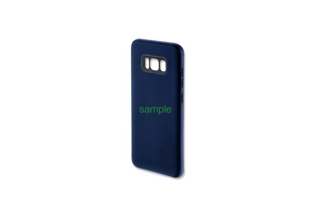 4smarts Silikon Case CUPERTINO für Galaxy S8 dunkelblau
