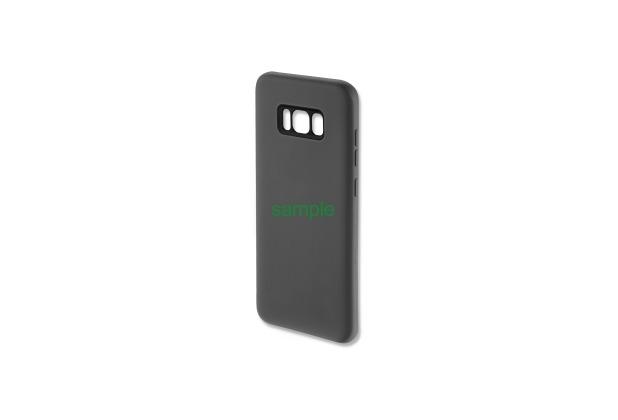 4smarts Silikon Case CUPERTINO für Galaxy S8 steingrau