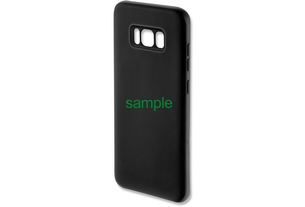 4smarts Silikon Case CUPERTINO für iPhone X - schwarz